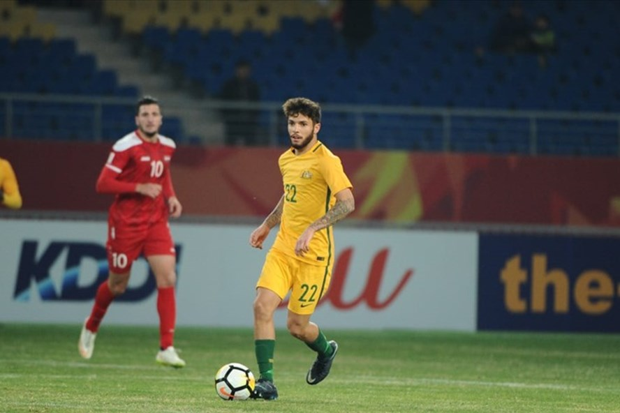 Sao U23 Australia đặt mục tiêu thi đấu ở World Cup 2018 - ảnh 1