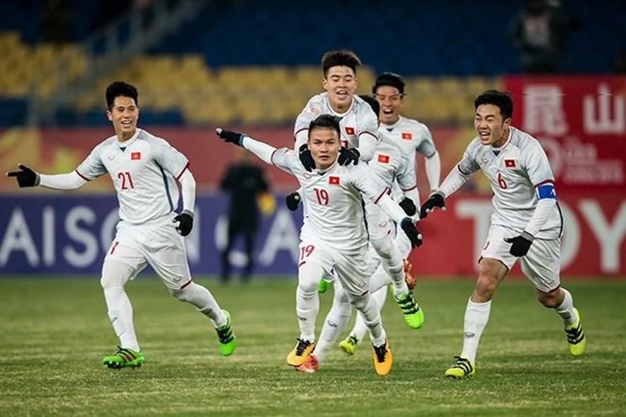 U23 Việt Nam có sự tự tin nhất định ở sân chơi châu lục khi ghi bàn vào lưới U23 Hàn Quốc.