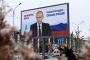 Hơn một triệu chữ ký ủng hộ ông Vladimir Putin tranh cử Tổng thống nhiệm kỳ 4