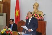 """Làm việc tại Bình Định, Thủ tướng Nguyễn Xuân Phúc: """"Phải tâm huyết, có khát vọng, quyết tâm thúc đẩy phát triển"""""""
