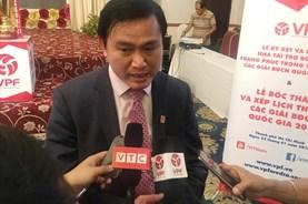 """""""99% VPF có tài trợ trước ngày V.League 2018 khởi tranh"""""""