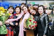 """Như Quỳnh hạnh phúc và gọi fan Hà Nội là """"người tình mùa đông"""""""