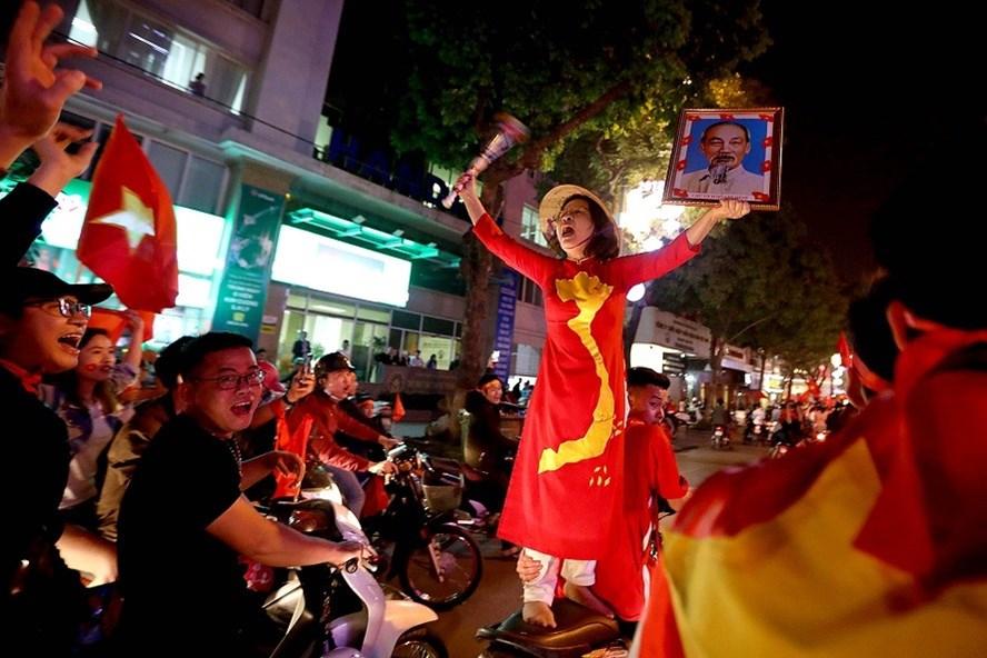 Niềm tự hào dân tộc mang tên: U23 Việt  Nam. Ảnh: T.L