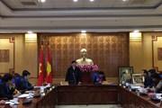 Chủ tịch Tổng LĐLĐVN Bùi Văn Cường làm việc với tỉnh Lai Châu