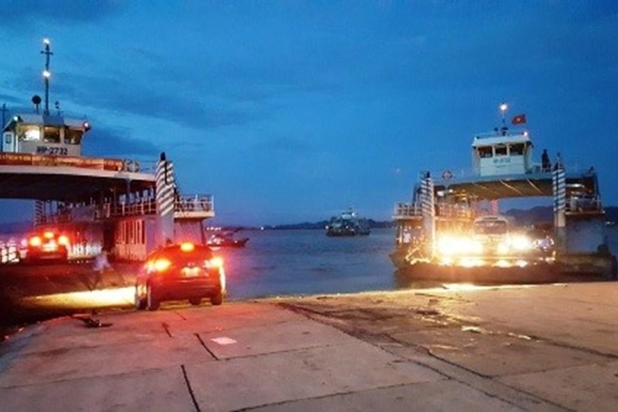 Sau 5 ngày cấm, Hải Phòng lại cho phép ôtô trên 12 chỗ chở khách qua phà Gót, ra đảo Cát Bà kể từ 0h ngày 31.1.