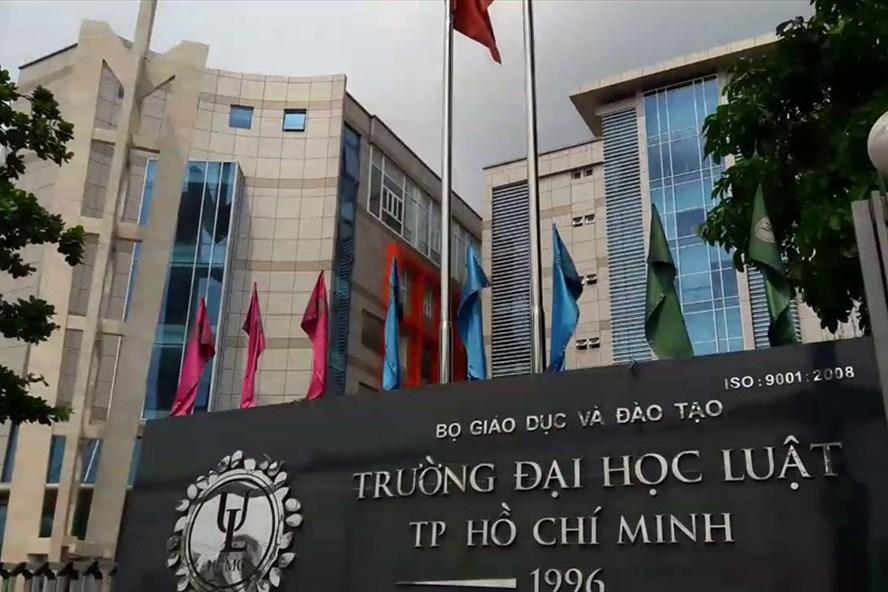 Đại học Luật TPHCM đã buộc phải thôi học hàng trăm sinh viên học lực kém. Ảnh: H.H