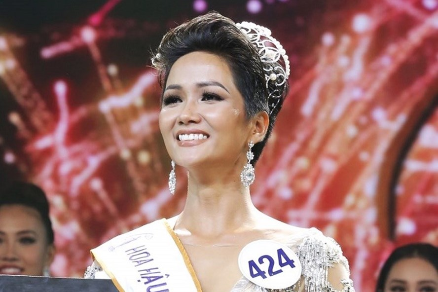 Tân Hoa hậu H'Hen Niê.