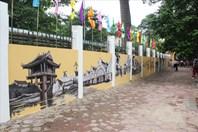 """Hà Nội xưa """"tái sinh"""" trên bức tường bích họa Phan Đình Phùng"""
