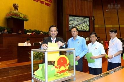 Quốc hội sẽ bầu Chủ tịch Nước vào ngày 23.10