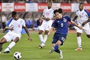 Sau Hàn Quốc, Uruguay lại thua thảm trên đất Nhật