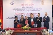 Hợp tác khoa học Việt Nam - Phần Lan: Mở ra một chương mới  trong lĩnh vực KHCN và đổi mới sáng tạo