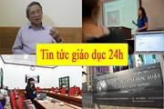 Tin tức giáo dục 24h: Giáo sư Hồ Ngọc Đại lên tiếng vụ phạt học trò tát nhau đến sưng má