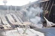 Cảnh tan hoang của xưởng gỗ rộng hàng ngàn mét vuông sau đám cháy