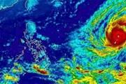 """Siêu bão Yutu sau khi hoành hành Philippines tiến thẳng Biển Đông, không khí lạnh tiếp tục """"gõ cửa"""" miền Bắc"""