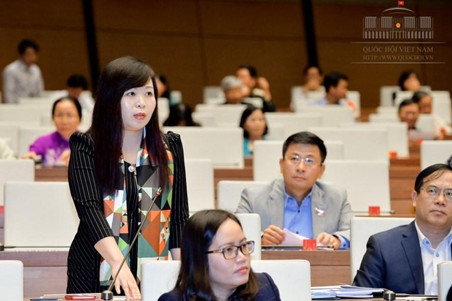 ĐBQH Vũ Thị Lưu Mai (Hà Nội). Ảnh: Quochoi.vn