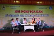 Công đoàn Y tế tỉnh Thái Bình tổ chức tọa đàm về công tác dân số