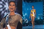 """H'Hen Niê diện bikini, hô vang """"Việt Nam"""" trên sân khấu Miss Universe"""
