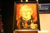 Loạt tranh sơn dầu hút hồn của họa sĩ vẽ chân dung HLV Park Hang-seo