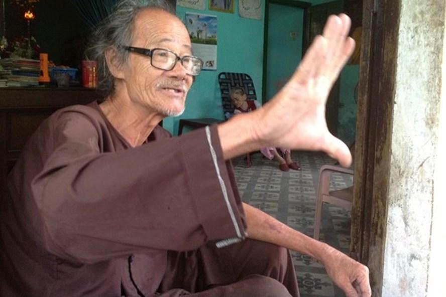Chân dung nhà thơ Trần Vàng Sao.