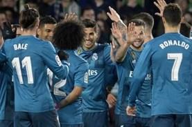 Rượt đuổi điên rồ, Real đại thắng Betis 5 - 3