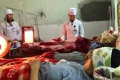 Bệnh viện vùng núi đối phó với rét đậm, rét hại