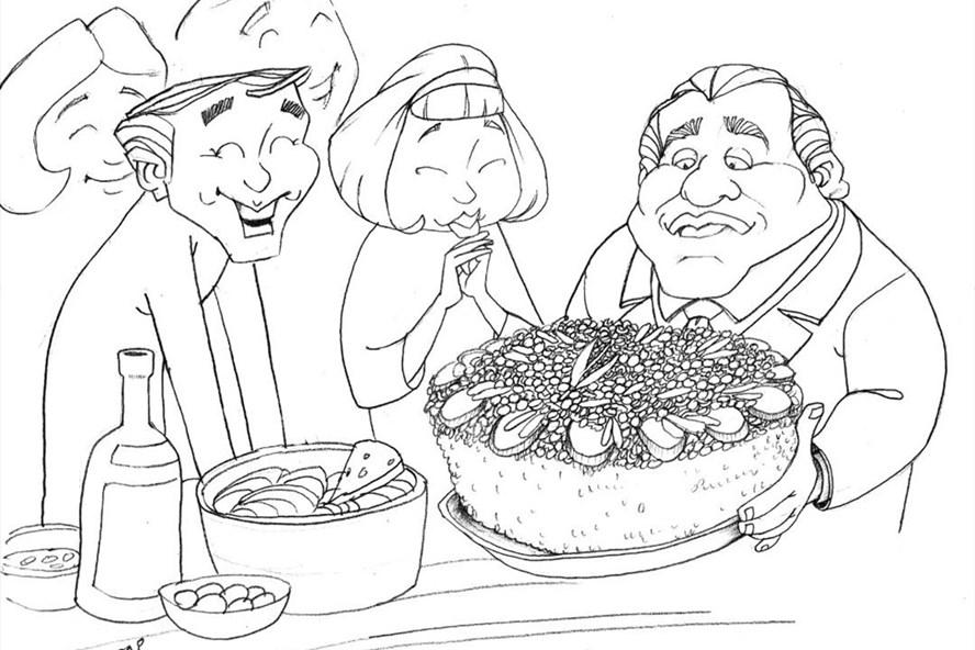 Minh họa của Choai