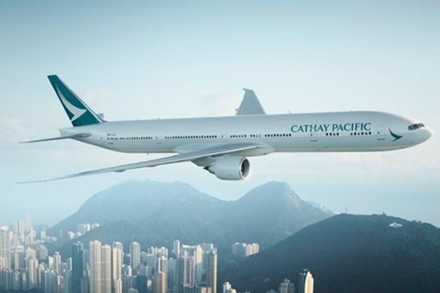 Máy bay của hãng Cathay Pacific. (nguồn cntraveler.com)