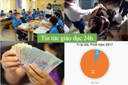 """Tin tức giáo dục 24h: Số lượng giáo sư tăng mạnh do """"háo danh"""";  sinh viên phản đối nghỉ Tết quá dài"""