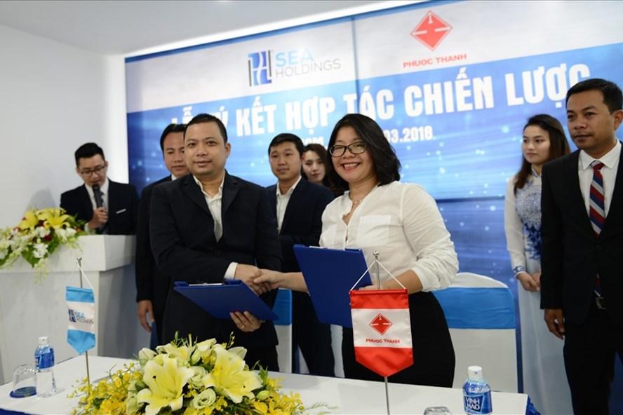 SeaHoldings và Phước Thành ký kết hợp tác chiến lược