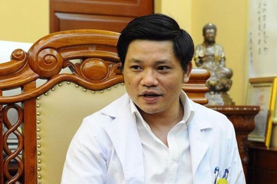 Bác sĩ Nguyễn Duy Ánh - GĐ BV Phụ sản Hà Nội trả lời PV Lao Động (Ảnh: HQ)