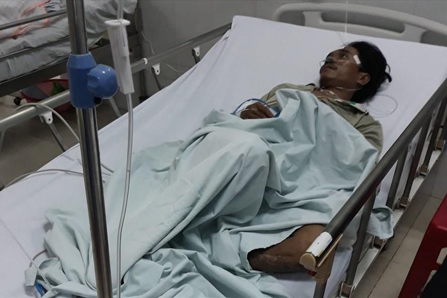 Nạn nhân còn lại đang được điều trị tại bệnh viện. Ảnh: CTV