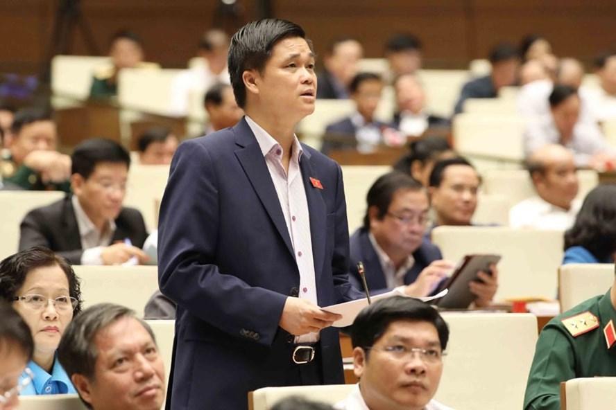 Đại biểu QH Ngọ Duy Hiểu (Hà Nội) đề xuất tăng lương cho giáo viên. Ảnh: HẢI NGUYỄN