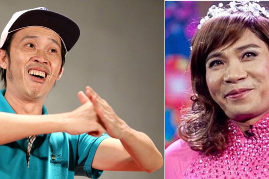 Nghệ sĩ Hoài Linh (trái) và nghị sĩ Công Lý trong vai Bắc Đẩu- chương trình Táo Quân
