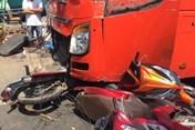 Tai nạn liên hoàn trên QL1A, 5 người thương vong