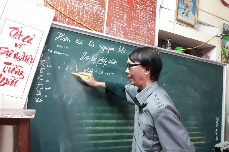 Thầy Dương Đình Nghiệp.