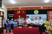 LĐLĐ tỉnh Điện Biên phối hợp tuyên truyền với Đài Phát thanh - Truyền hình tỉnh