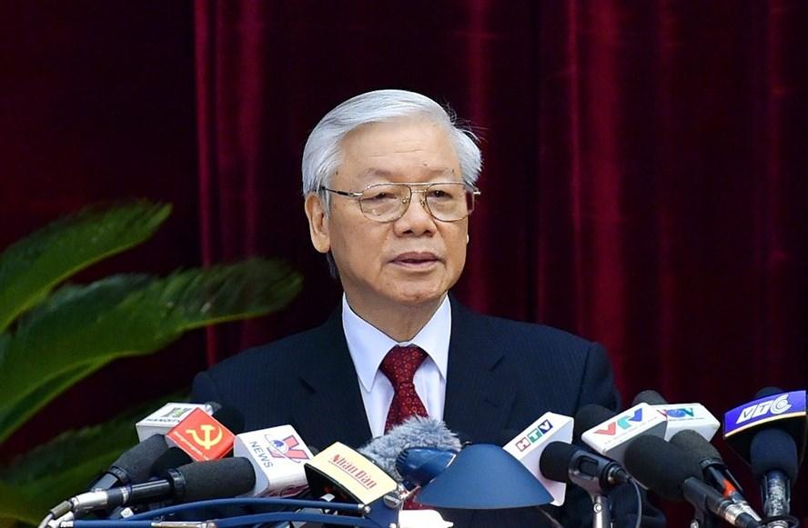 Tổng Bí thư Nguyễn Phú Trọng. Ảnh: N.Bắc.