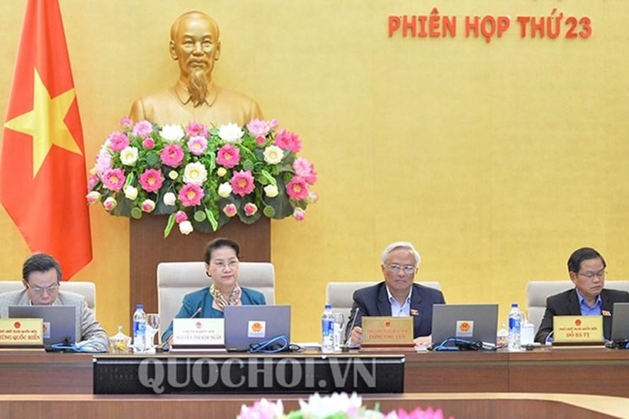 Chủ tịch Quốc hội Nguyễn Thị Kim Ngân. Ảnh QH
