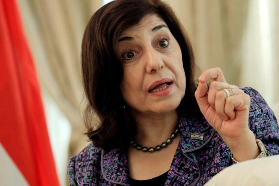 Cố vấn chính trị của Tổng thống Syria Bashar al-Assad, bà Bouthaina Shaaban. Ảnh: Reuters.