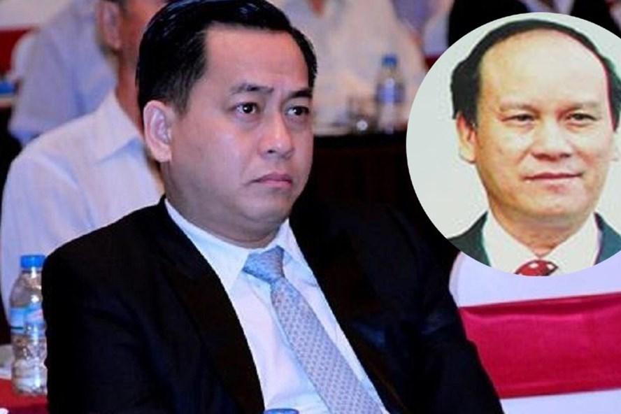 """Phan Văn Anh Vũ- tức Vũ """"nhôm"""" và nguyên CT UBND TP Đà Nẵng Trần Văn Minh (ảnh nhỏ)"""