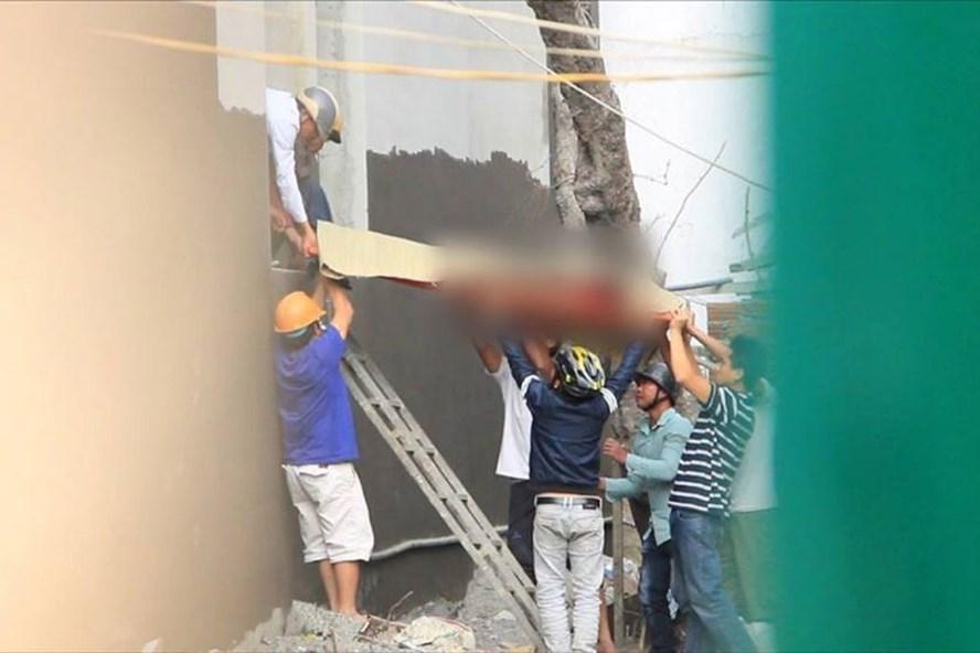Nạn nhân sinh năm 1996, là công nhân làm việc tại công trình khách sạn đang xây dựng.