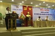 """Cty CP Cảng Đà Nẵng phấn đấu lần thứ ba được xếp hạng """"Doanh nghiệp vì người lao động"""""""