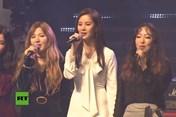 Dàn sao Kpop lần đầu biểu diễn chung với các nghệ sĩ Triều Tiên