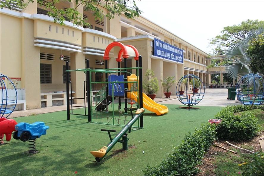Trường TH Bình Chánh.
