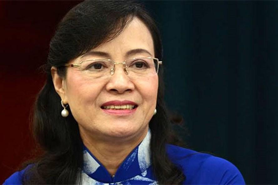 Bà Nguyễn Thị Quyết Tâm - Chủ tịch HĐND TP HCM. Ảnh: Kinh tế Đô thị.
