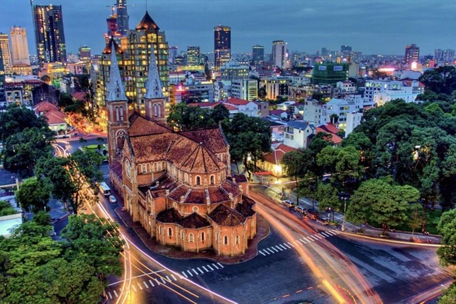 Vẻ đẹp Sài Gòn. Ảnh: Ivivu