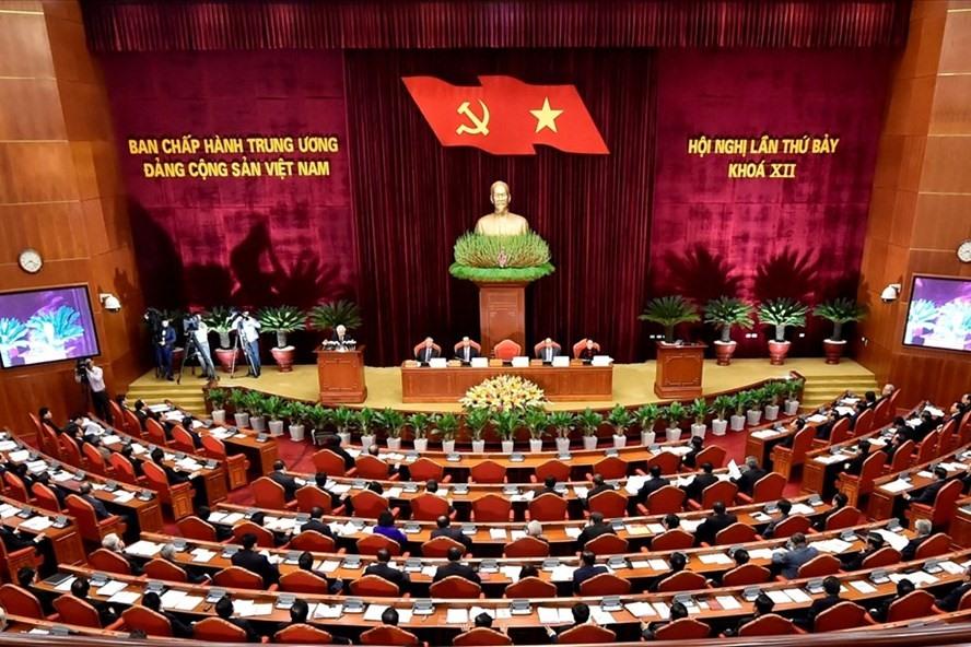 Hội nghị Trung ương 7 khóa XII đã bế mạc sau 6 ngày làm việc (Ảnh: N.Bắc)