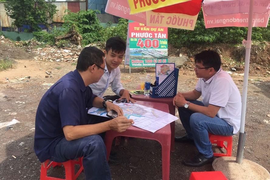 Mua bán đất tại dự án Khu dân cư, tái định cư xã Phước Tân (TP. Biên Hòa, tỉnh Đồng Nai).