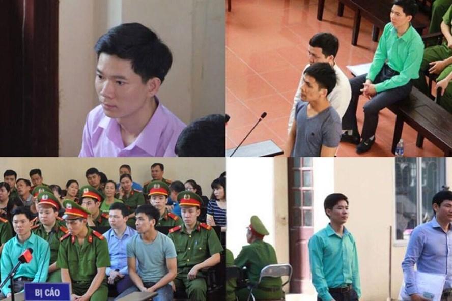 Bị cáo Hoàng Công Lương muốn truyền thông điệp qua màu áo xanh - ảnh 1