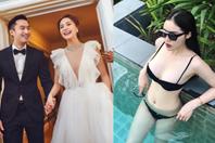 Nóng nhất showbiz: Kỳ Duyên khoe body nóng bỏng, Chung Hân Đồng tung ảnh cưới cổ tích